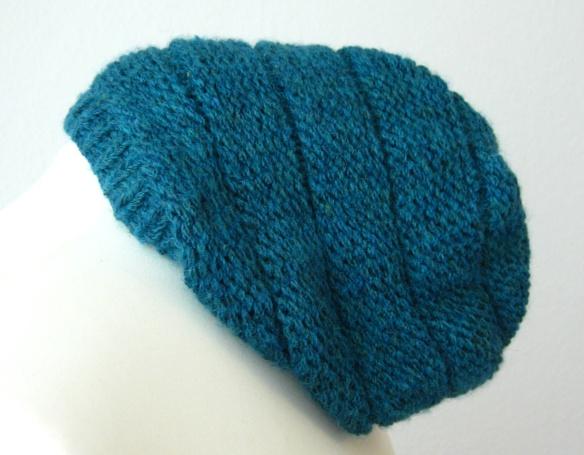Beanie-Mütze glatt links