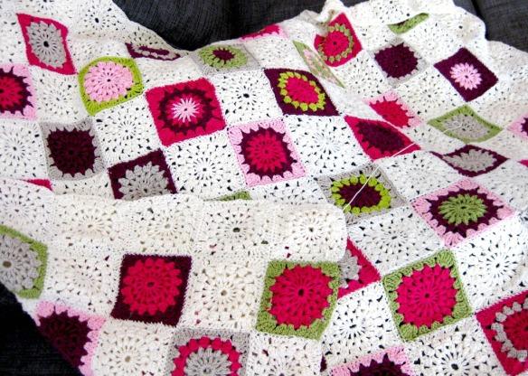 Decke häkeln Anleitung kostenlos