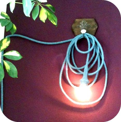 Lampe Kabel umstricken Anleitung kostenlos
