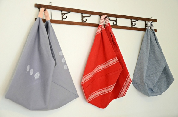 Origami market bag 3
