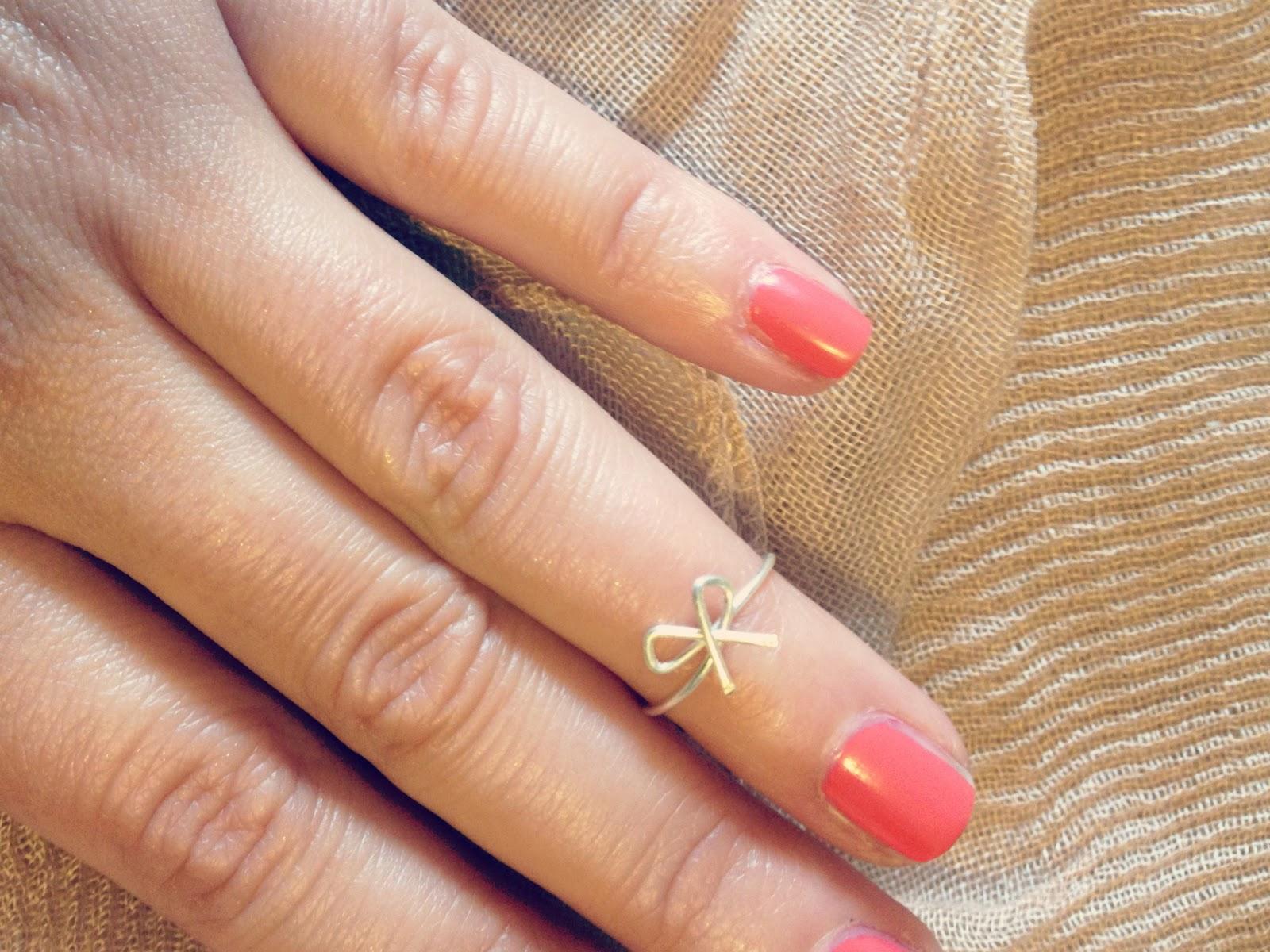 FUNDSTÜCKE: Fingerknöchelring | Neues vom Bastelschaf