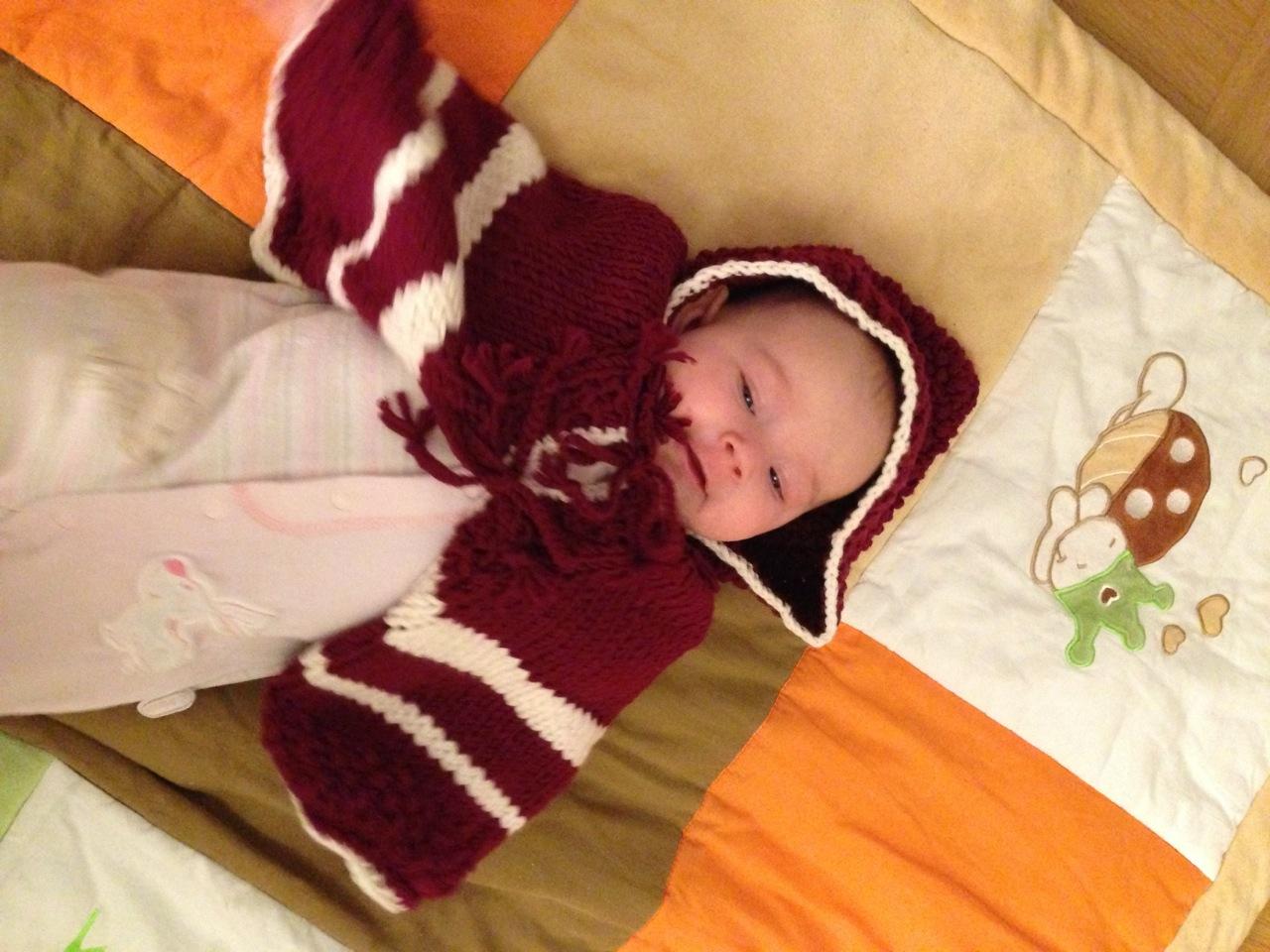 Es War Einmal Ein Rotkäppchen Babycape Stricken Neues Vom Bastelschaf