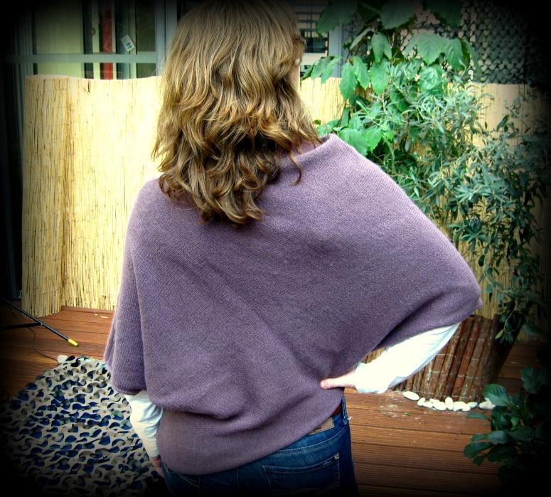 Paris Sweater hinten Bastelschaf