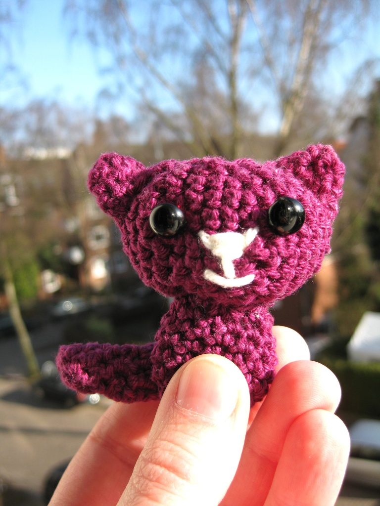 crochet cat amigurumi