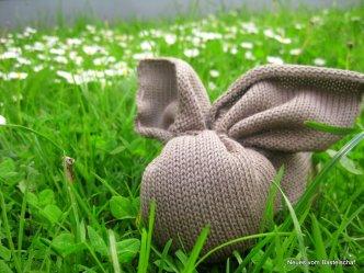 bastelschaf bunny grass