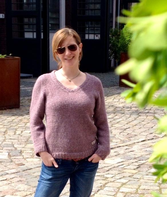 pullover stricken bastelschaf