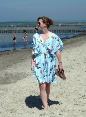Strandkleid nähen Anleitung kostenlos