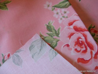 Wachstuch rosa