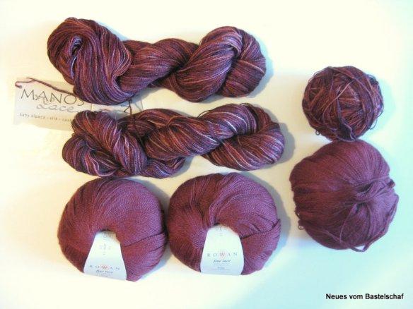 Clarity Cardigan stricken Wolle handgefärbt