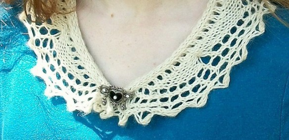 Crochet Lace Collar Spitzenkragen häkeln