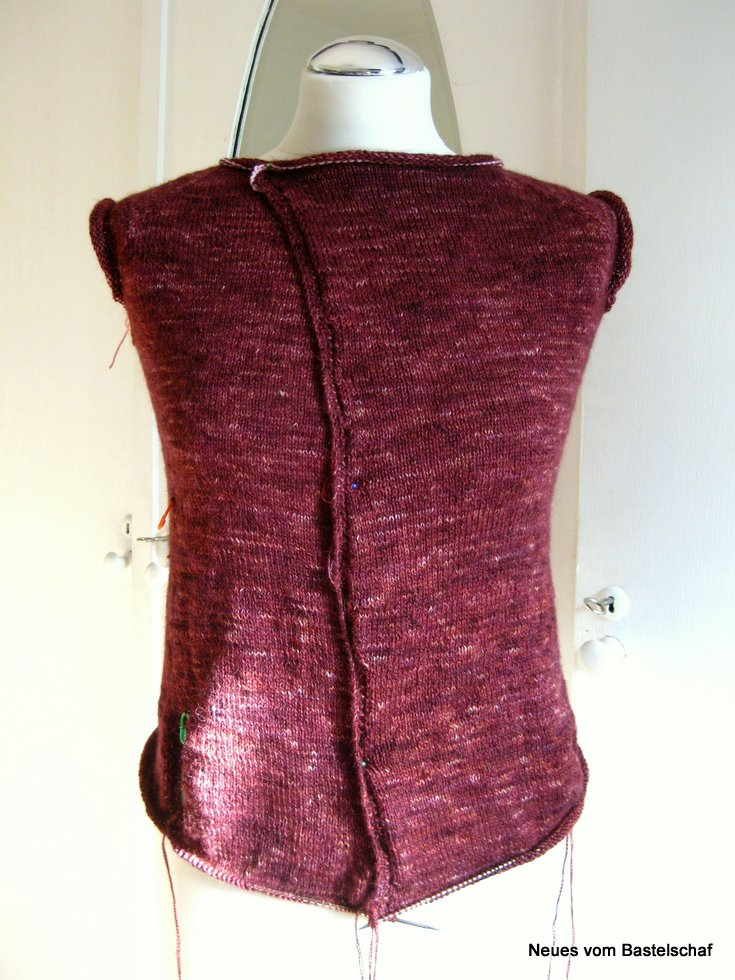 Cardigan Knit Along Vorderseite