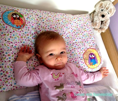 Kopfkissenbezug Baby nähen