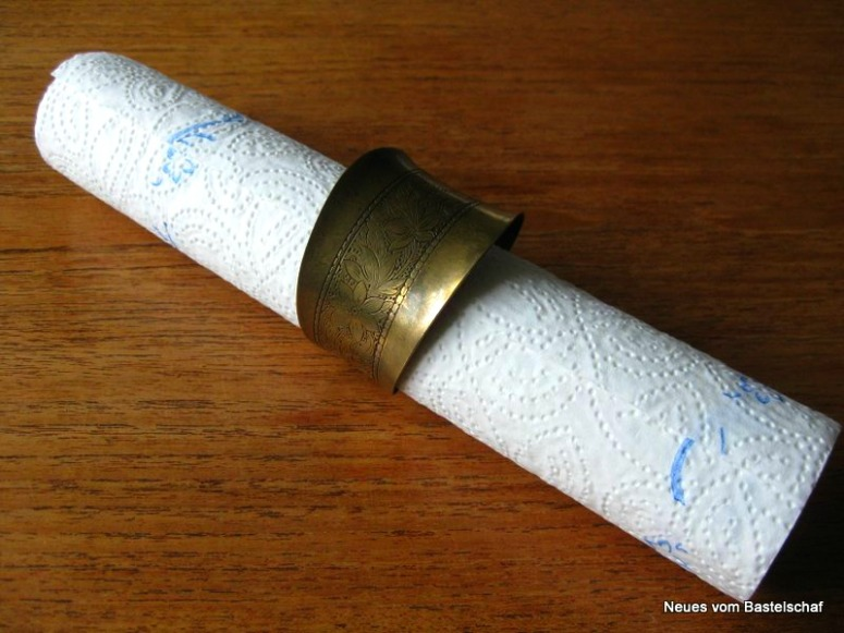 Schmuckaufbewahrung Schmuckrolle Armreifen selber machen