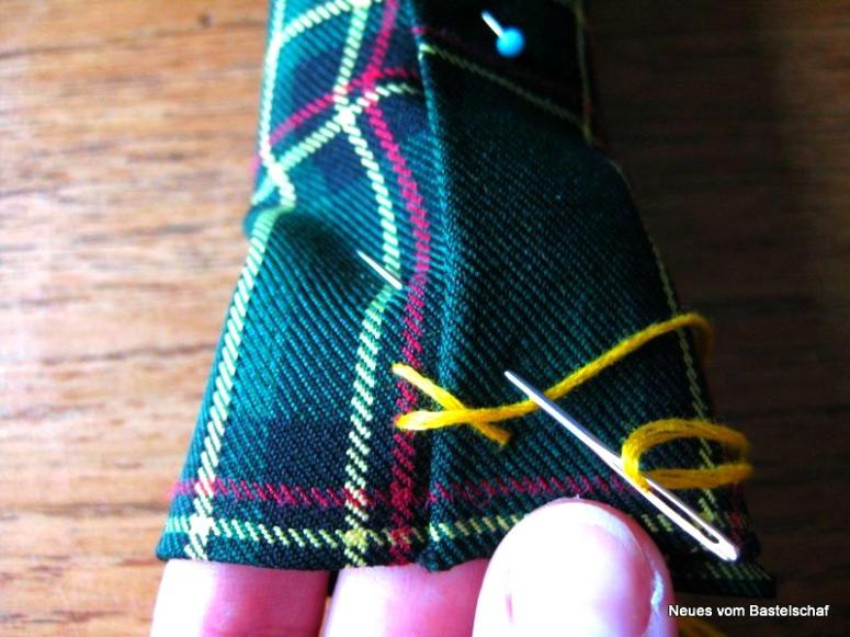 Schmuckaufbewahrung Schmuckrolle Armreifen selber machen Anleitung