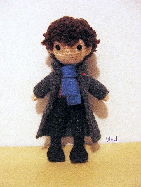 Sherlock häkeln Anleitung