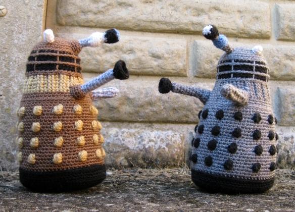 Dalek Dr Who Häkeln Anleitung kostenlos