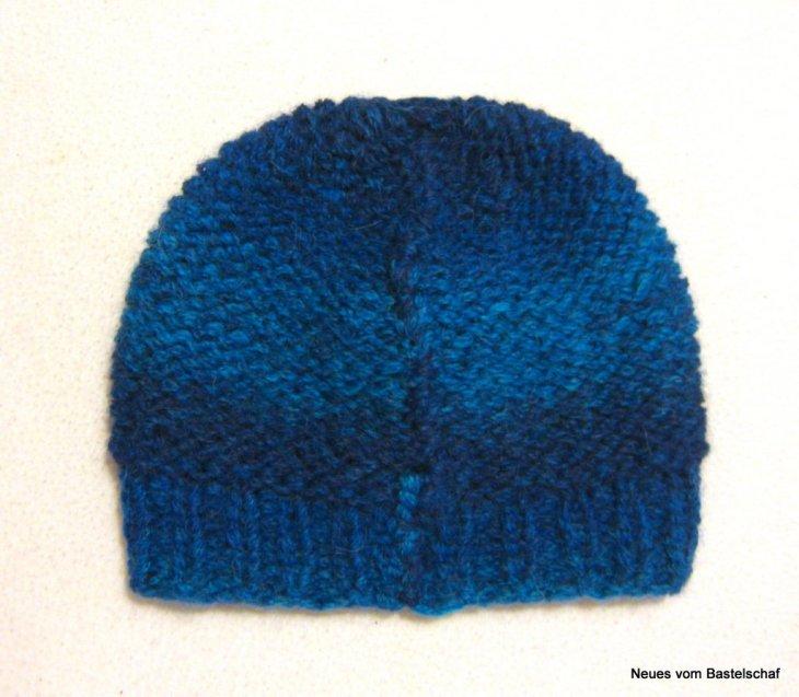 Mütze in Reihen stricken