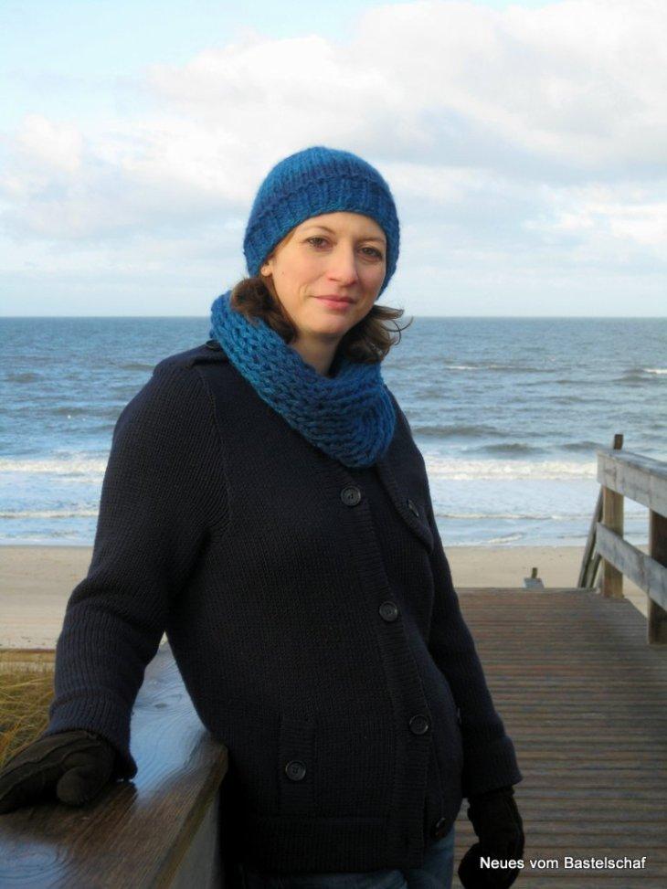 Mütze mit dicker Wolle stricken