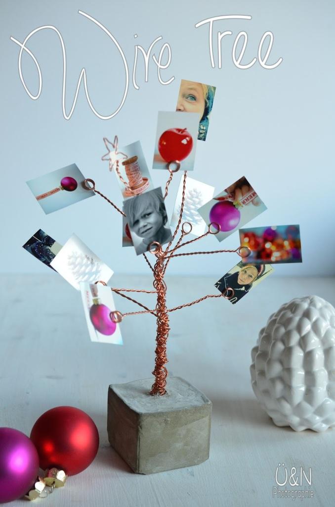 Drahtbaum Fotobaum selbermachen