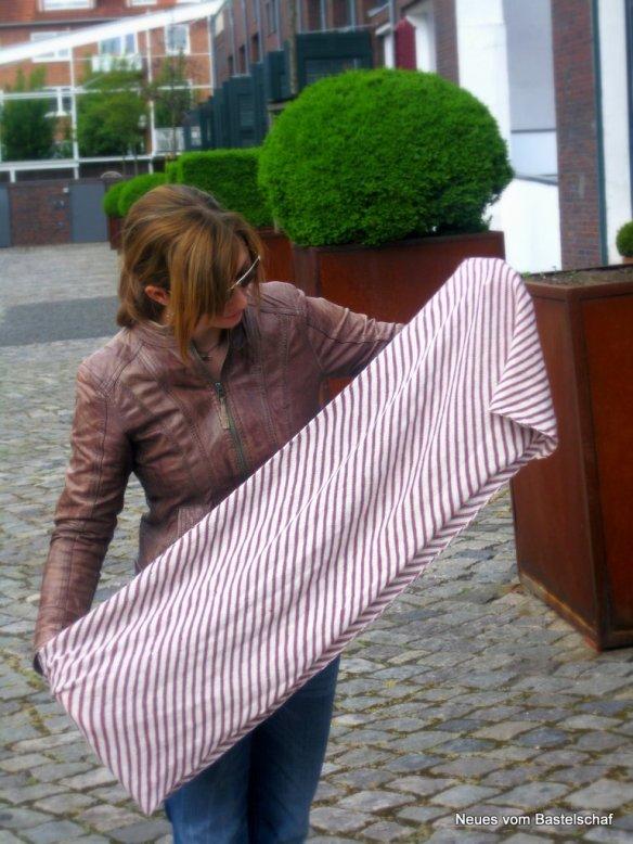 Loop breit dünne Wolle