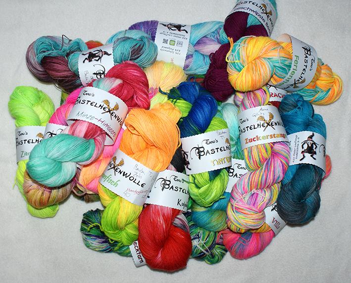 Wie färbt man Wolle