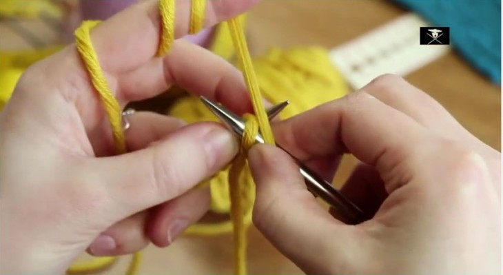 Video Linke Maschen stricken
