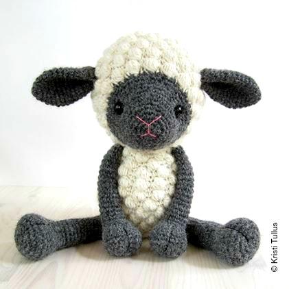 Schaf Kuscheltier häkeln