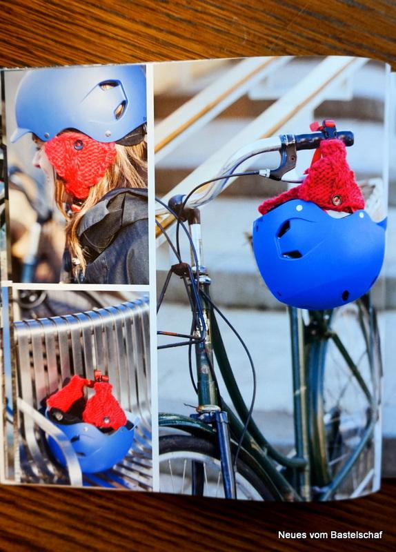 Ohrwärmer Fahrrad häkeln