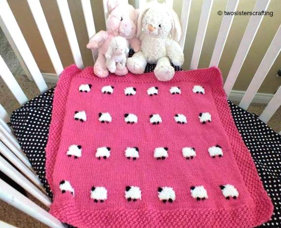 Babydecke Schaf