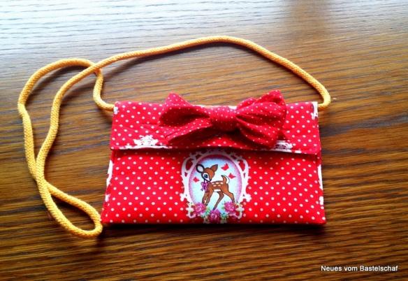 Handtasche für Kinder nähen Anleitung kostenlos