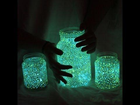 Knicklicht Glas basteln