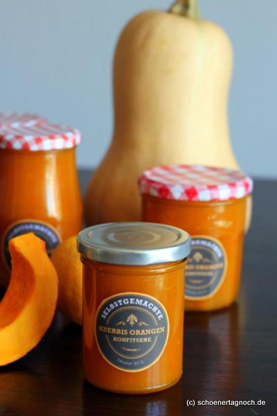 Marmelade Kürbis Orange selber machen