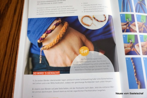 Armband Kork selber machen