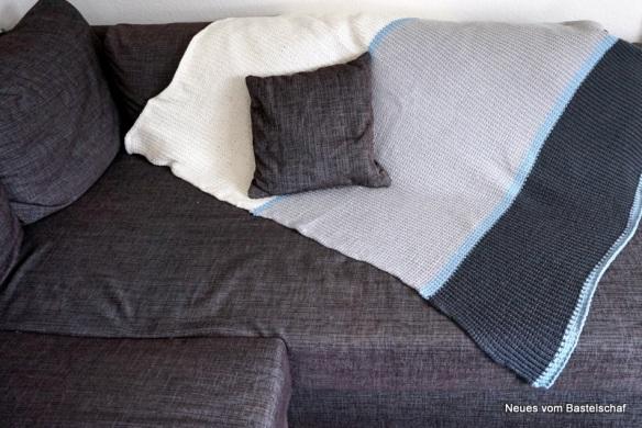 Tagesdecke Bettüberwurf stricken