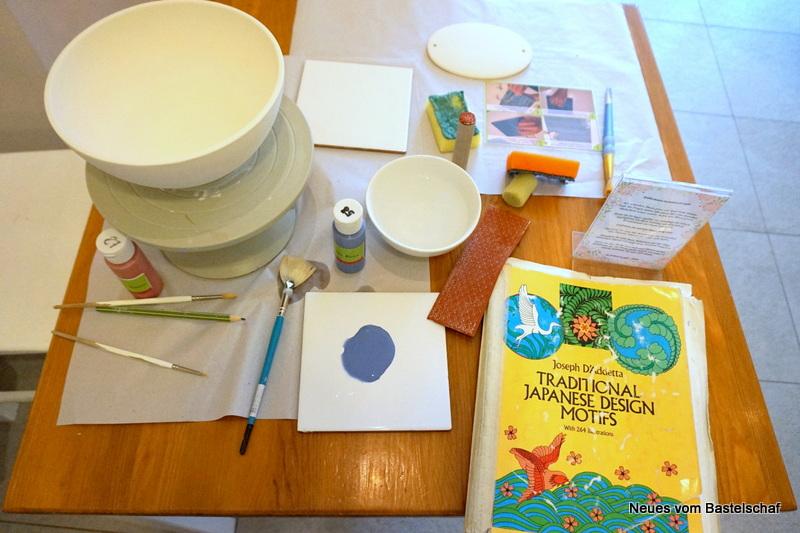 Keramik selber bemalen Ideen
