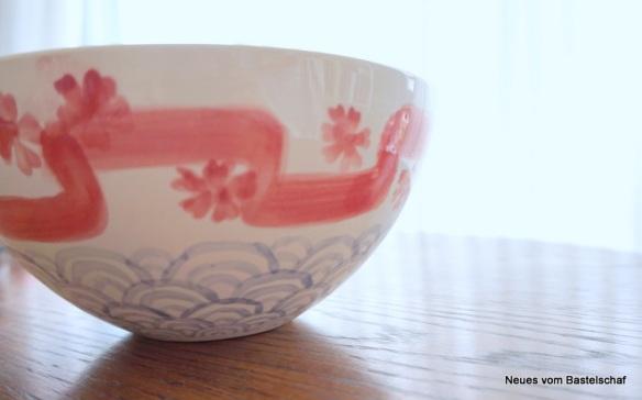 Keramik Schale bemalen japanisch