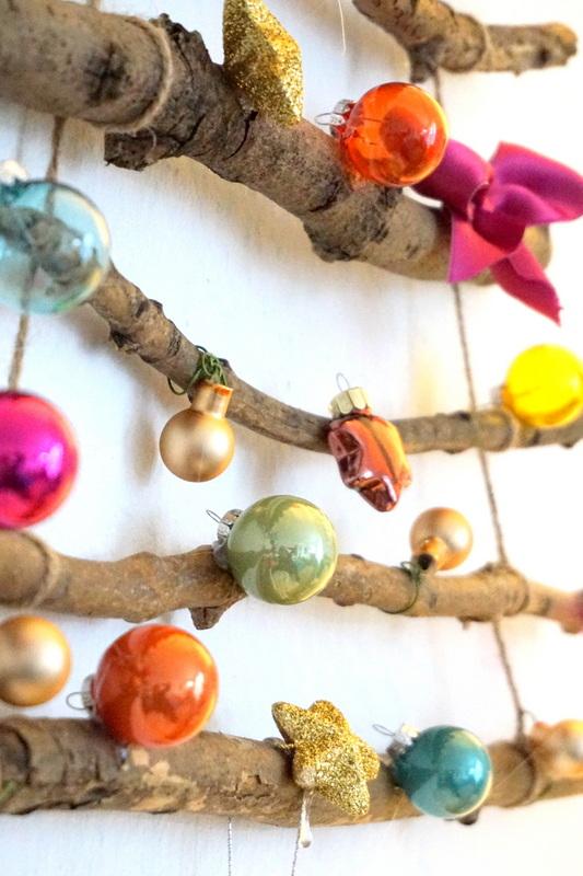 Weihnachtsbaum Idee kreativ selber basteln