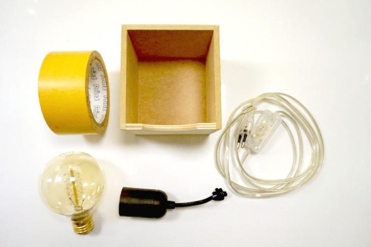 Stylische Beton-Lampe selber machen – Neues vom Bastelschaf