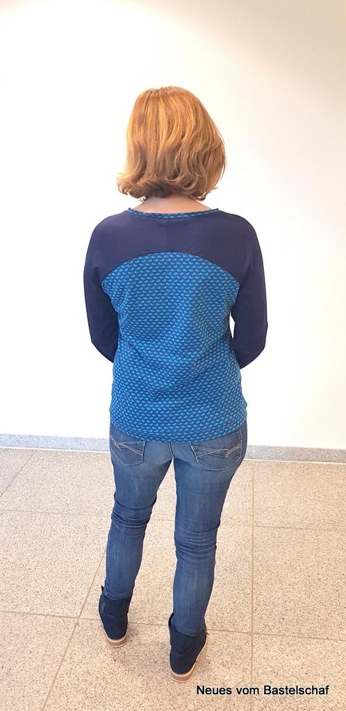 Shirt Bethioua Rücken Raglanärmel