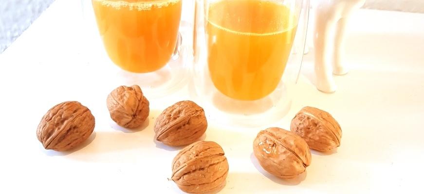 Mandarinenpunsch mit Gin oder alkoholfrei
