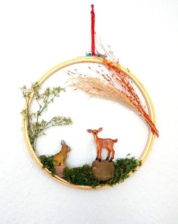 Ideen Stickrahmen dekorieren