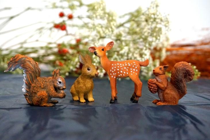 Waldtiere Spielfiguren