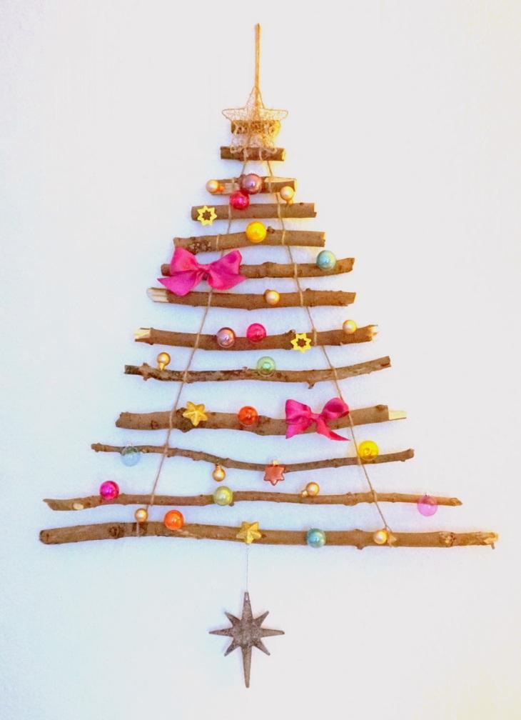 Wiederverwendbaren Weihnachtsbaum basteln