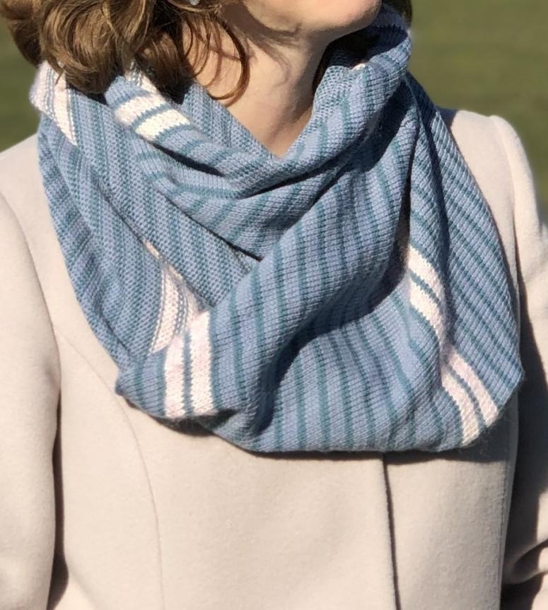 Schal aus Lacewolle stricken Anleitung kostenlos