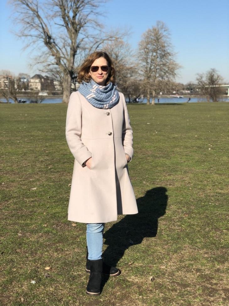 Anleitung dünnen Schal für Frühling stricken