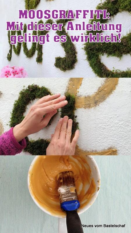 Rezept Moos Graffiti